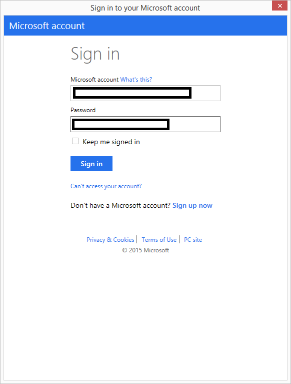 03 Sign In to Windows Azure PowerShell Popup