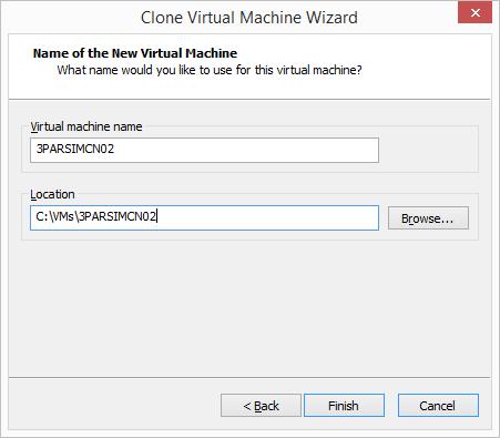 VMware Workstation - Name Clone