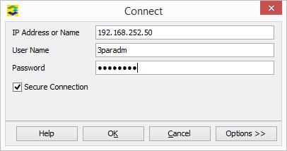 3PAR Management Console Logon