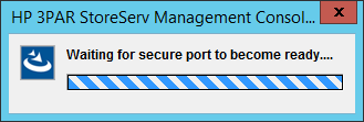 SSMC Waiting for secure port to become ready