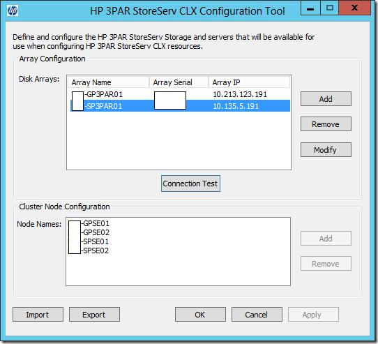 CLX Configuration Tool