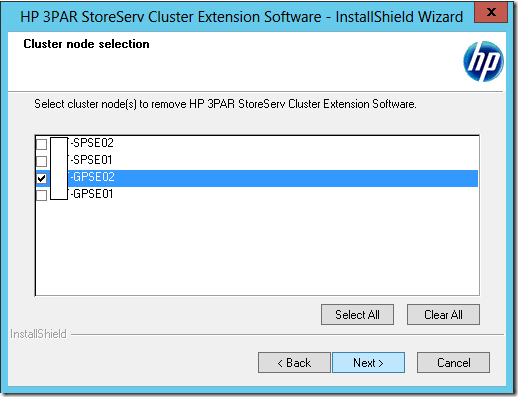 HPE CLX Error – Socket connection timed out to port 2550