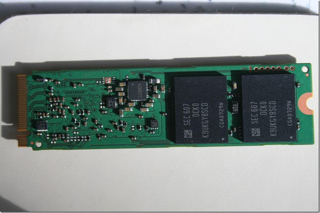 Samsung SM951 512GB M.2 PCIe NVMe SSD