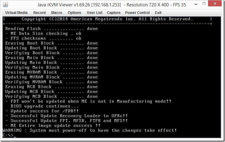 FreeDOS BIOS Imaging
