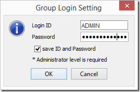 Supermicro IPMIView Group Login Setting