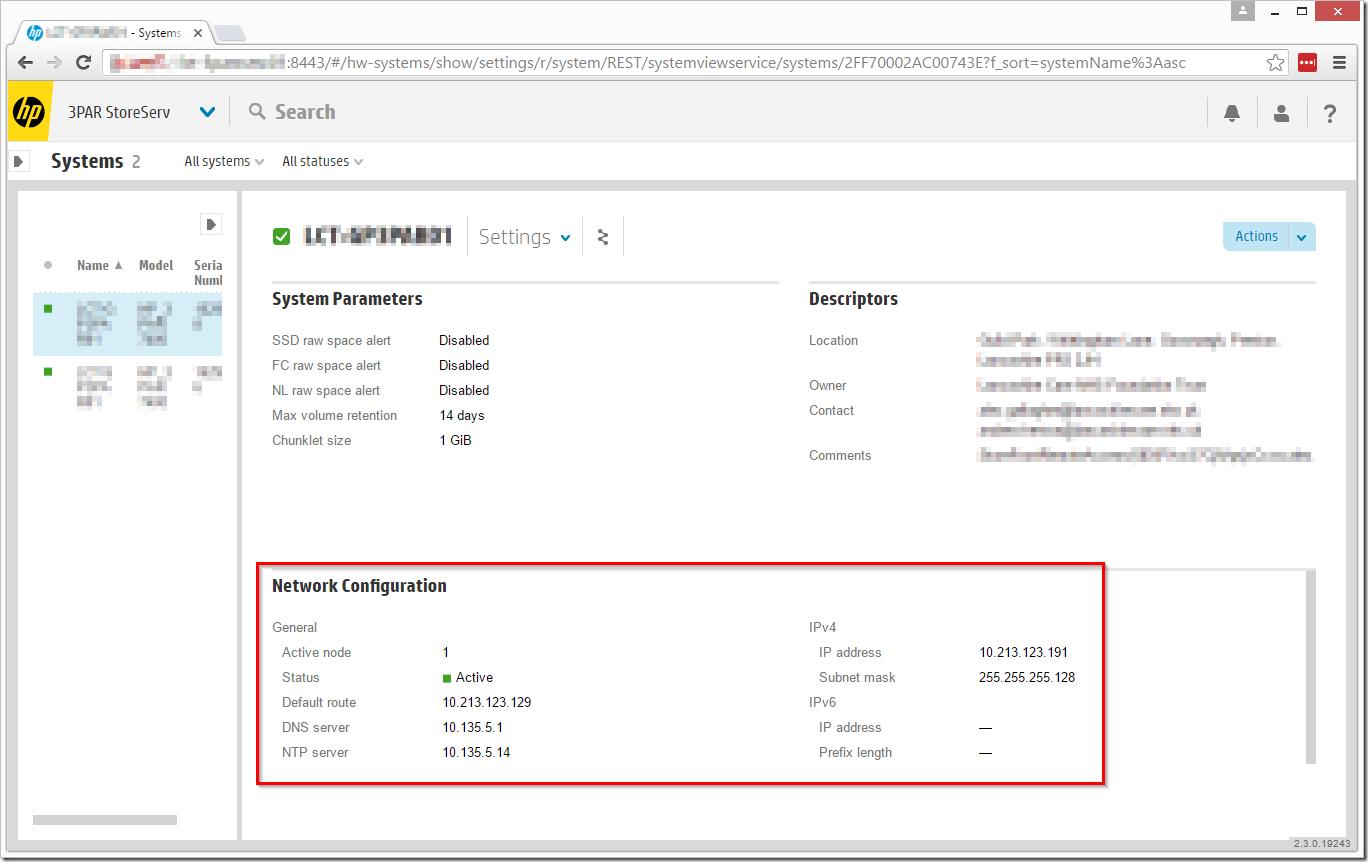 HPE 3PAR Change DNS Settings – ByteSizedAlex