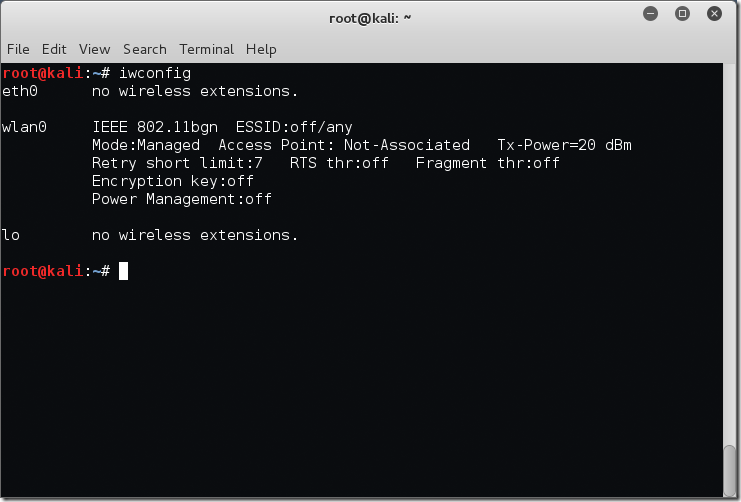 Finding Wireless Networks With Aircrack-ng – ByteSizedAlex