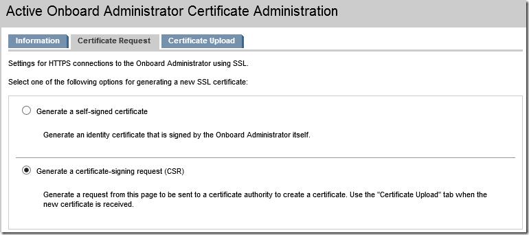 Generate a certificate-signing request (CSR)