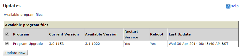 Trend Micro Smart Protection Server - Upgrade Package Details