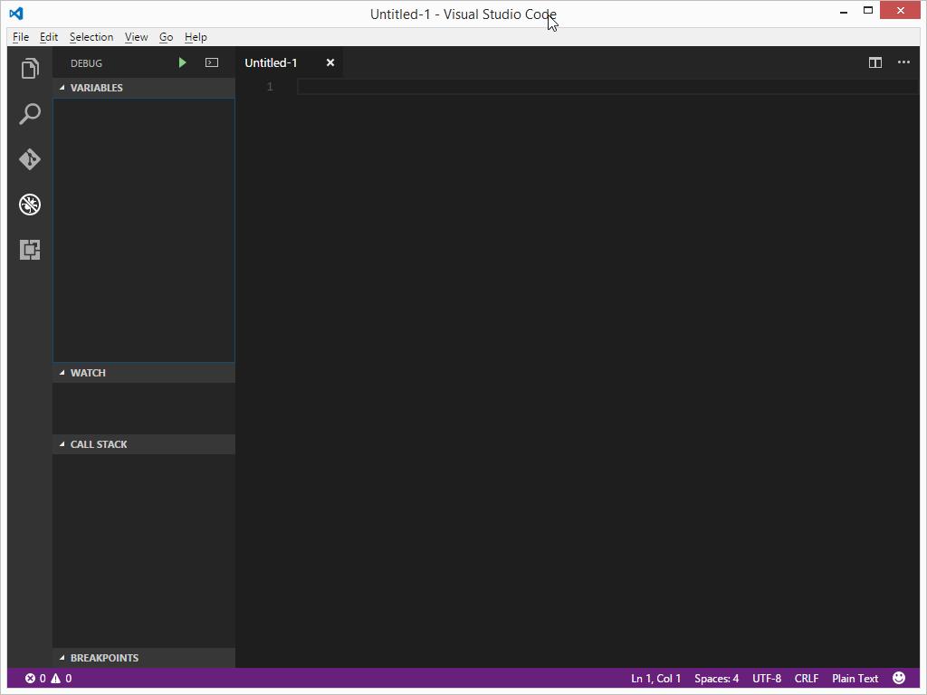 Visual Studio Code Debug