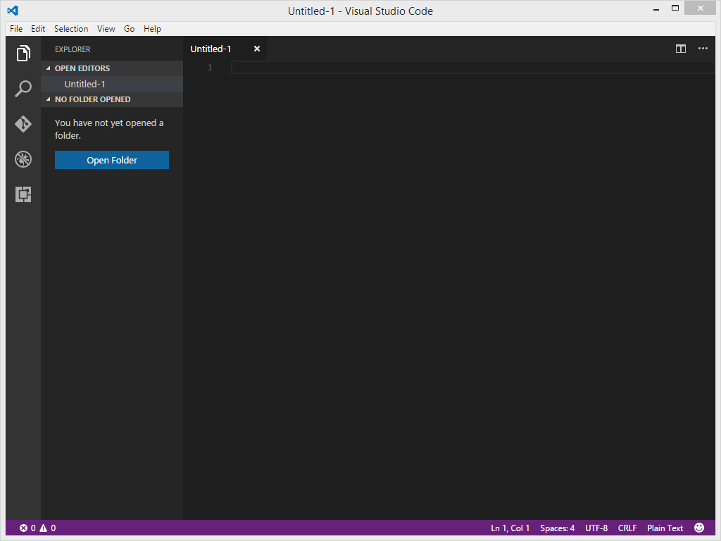 Visual Studio Code File Explorer