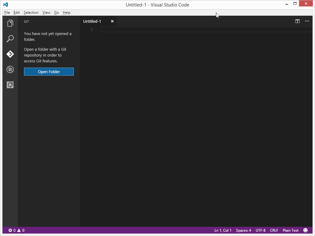Visual Studio Code GIT