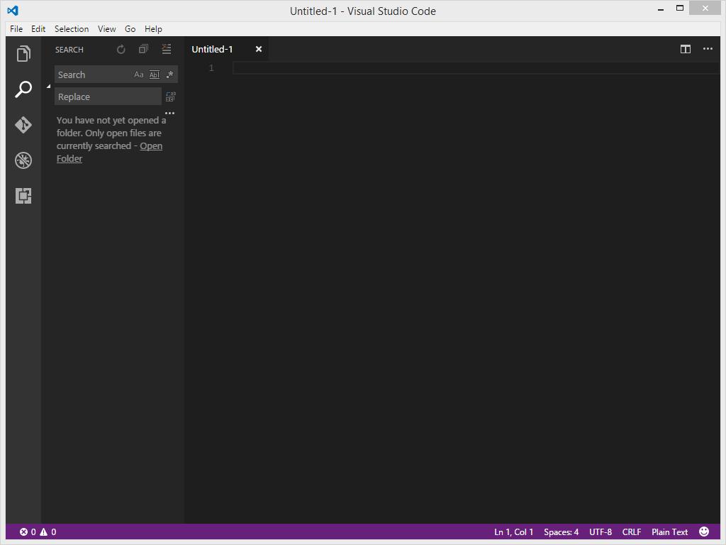 Visual Studio Code Search