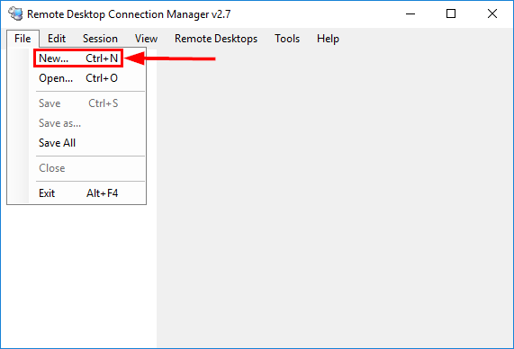 Remote Desktop Connection Manager New RDCMan Group