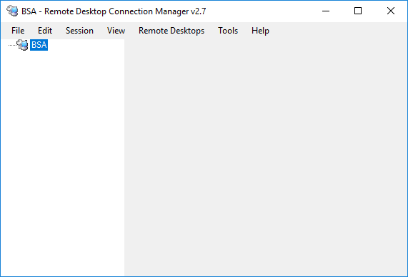 Remote Desktop Connection Manager RDCMan Group Created