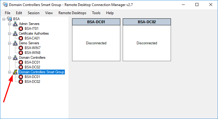 Microsoft Remote Desktop Connection Manager – ByteSizedAlex