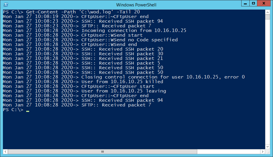 Large Text File Problem - PowerShell Rescue - PowerShell Get-Content Tail Command